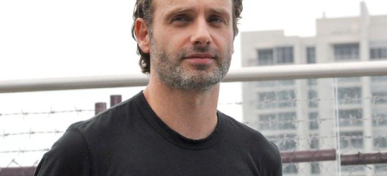 "Andrew Lincoln w ""Walking Dead"""