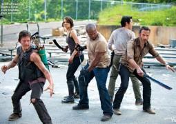 grupowe zdjęcie Walking Dead